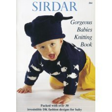 Gorgeous Babies Knitting Book 264