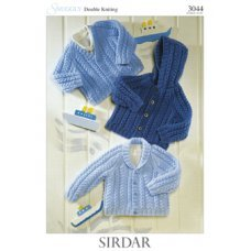 Babies Cardigans & Jackets in Snuggly Dk 50g (3044)