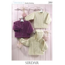 Babies Cardigans & Jackets in Snuggly Dk 50g (3084)