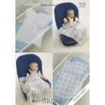 Babies Shawls & Blankets in Snuggly Dk 50g (3174)