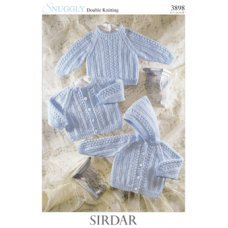 Babies Cardigans & Jackets in Snuggly Dk 50g (3898)
