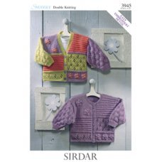 Babies Cardigans & Jackets in Snuggly Dk 50g (3945)