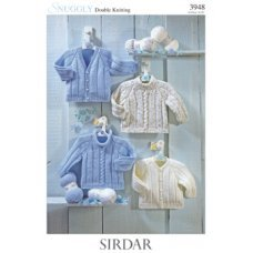 Babies Cardigans & Jackets in Snuggly Dk 50g (3948)