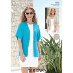 Womens Jackets in Sirdar Cotton DK (7078)