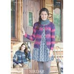 Womens cardigans in Sirdar Hush (7096)