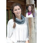 Womens snood in Sirdar Hush (7098)