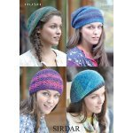 Womens hats and berets in Sirdar Hush (7099)