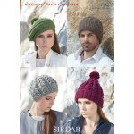 Berets and Hats in Sirdar Wool Rich Aran (7182)
