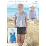 Womens Waistcoats and Top in Beachcomber DK (7285)
