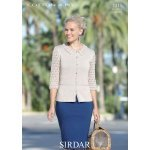 Womens Cardigans in Sirdar Cotton 4 ply (7311)