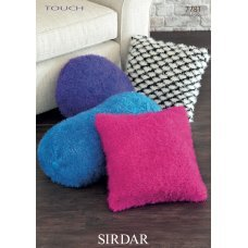 Cushion Covers in Sirdar Touch (7781)