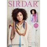 Scarves in Sirdar Colourwheel (8027)