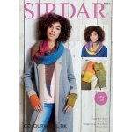 Snood, Wrap and Mitts in Sirdar Colourwheel (8031)