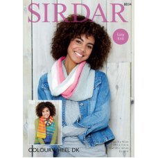 Snood and Scarf in Sirdar Colourwheel (8034)