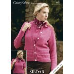 Womens Cardigan & Top in Country Style Dk (8433)