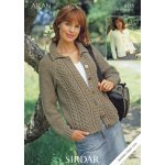 Womens Cardigans in Hayfield Bonus 400g Aran with Wool (8485)