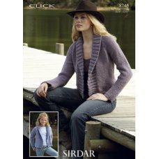 Womens Jackets in Click Chunky with Wool (8745)