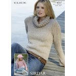 Womens Sweaters in Click Chunky with Wool (8747)