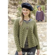 Womens Jackets in Click Chunky with Wool (9118)