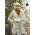 Womens Cardigans in Hayfield Bonus 400g Aran with Wool (9220)