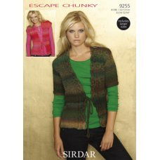 Womens Cardigans in Escape Chunky (9255)