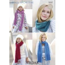 Women & Children Scarf & Neck Warmer in Big Softie (9267)