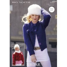 Womens & Childrens Cardigans in Big Softie (9353)
