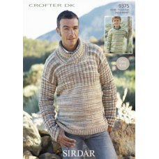 Mens & Childrens Sweaters in Crofter Dk (9375)