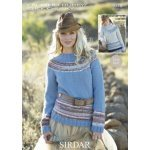 Womens Sweaters in Click Chunky with Wool (9378)