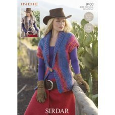Womens Waistcoats in Indie (9400)