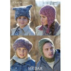 Mens Scarves & Accessories in Click Dk (9442)