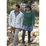 Mens & Womens Cardigans in Hayfield Bonus 400g Aran with Wool (9466)