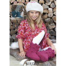 Womens & Children Boots in Click Chunky with Wool (9500)