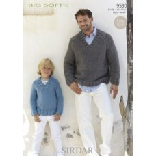 Mens & Childrens Sweaters in Big Softie (9530)