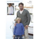 Mens, Womens & Childrens Sweaters in Hayfield Bonus 400g Aran with Wool (9551)