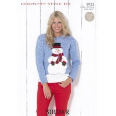 Snowman sweater in Country Style DK (9723)