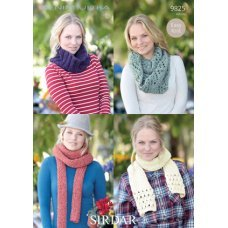 Snood and Scarf pattern in Sirdar Denim Ultra (9825)