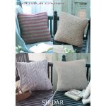 Cushion Covers in Sirdar Softspun Chunky (9854)