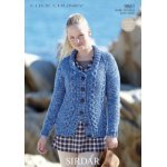 Womens Jacket in Click Chunky with Wool (9861)