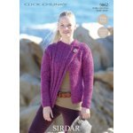 Womens Jacket in Click Chunky with Wool (9862)