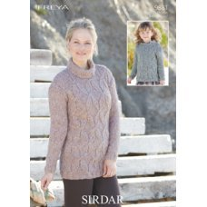 Sweater and Tunic in Sirdar Freya (9881)
