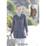 Jackets in Sirdar Freya (9882)