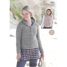 Jacket and Gilet in Sirdar Freya (9887)