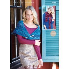 Crochet Shawl and Scarf in Sirdar Giselle (9888)