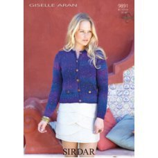 Chanel-Style Jacket in Sirdar Giselle (9891)