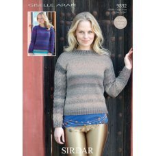 Womens sweaters in Sirdar Giselle (9892)