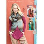 Waistcoat and Scarf in Sirdar Giselle (9893)
