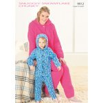 Onesie in Snuggly Snowflake Chunky (9912)