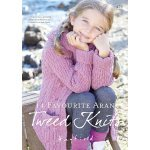 14 Favourite Aran Tweed Knits pattern book (479)