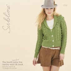The fourth fabulous Sublime merino wool dk book (654)